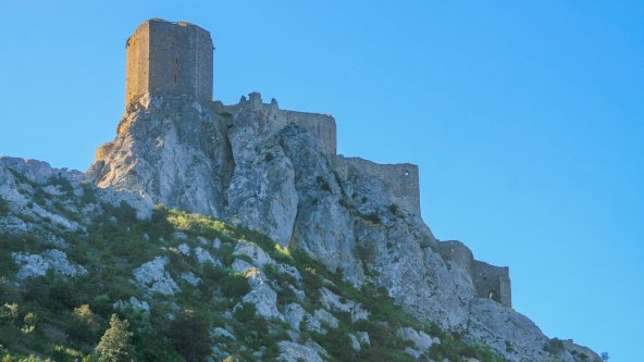 Crossing the Cathar country