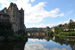 THE WAY OF SAINT JAMES : FROM LE-PUY-EN-VELAY TO CONQUES